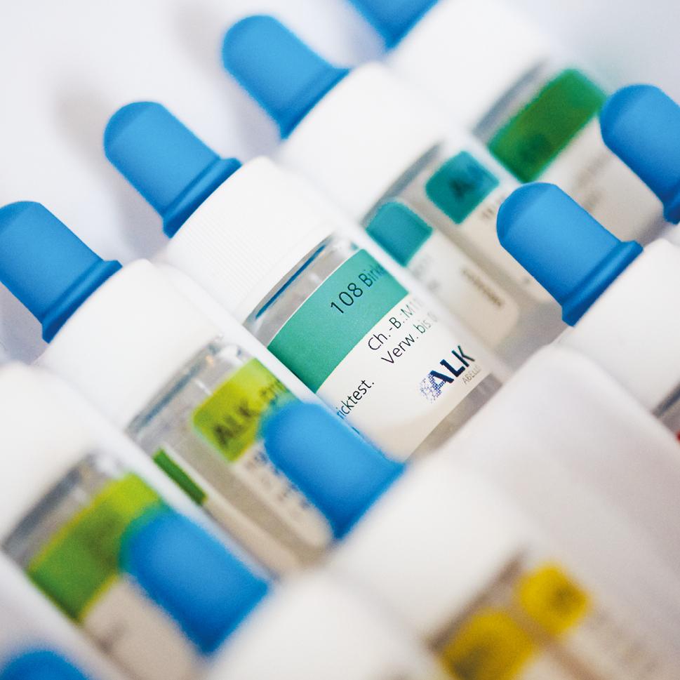 Die HNO-Praxis Dr. Brigitte Krug in Weinheim bietet verschiedene allergologische Tests und Therapien an, um die anschließende Therapie ganz gezielt darauf abzustimmen